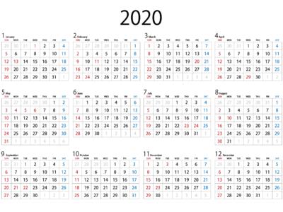 令和2年、2020年の祝日事情!実はいつもと違います